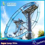 aqua loop water slide in water aqua park