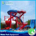 toboggan slide for swimming pool