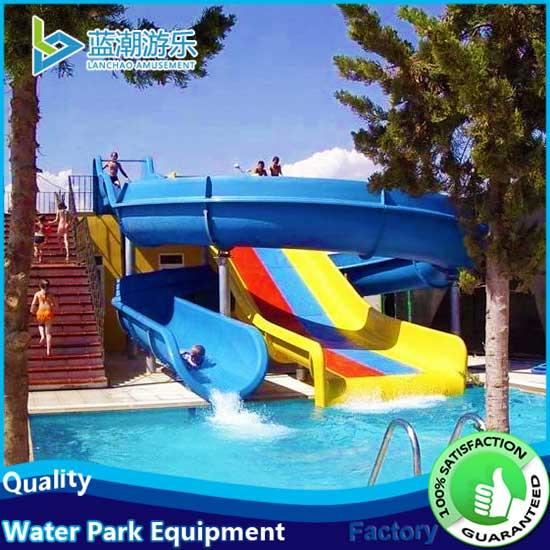 swimming-pool-kids'water-slide-combination