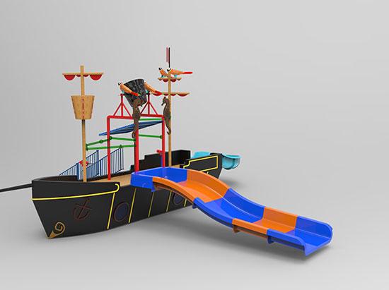 fiberglass pirate boat for sale