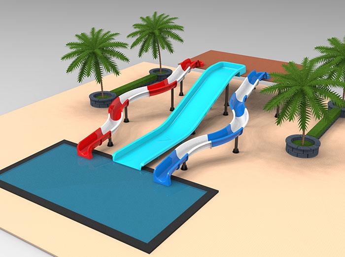 kids-water-slide-combination